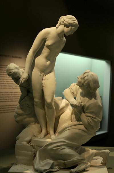 Pygmalion et Galatée. Etienne Maurice Falconet.
