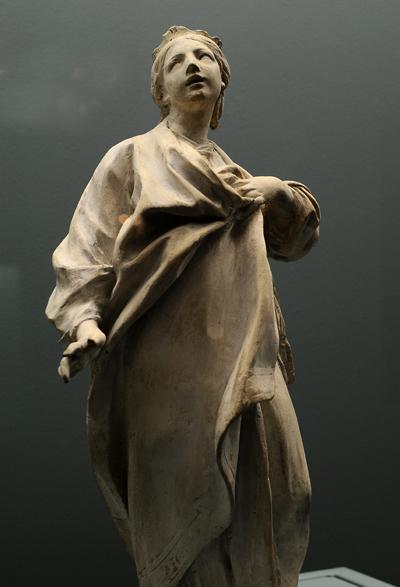Sainte Clodilde. Etienne Maurice Falconet.