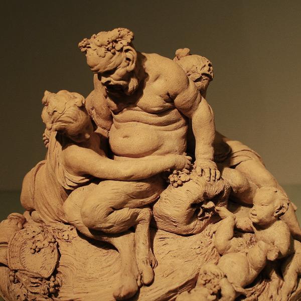 Silène et les nymphes. Etienne Maurice Falconet.