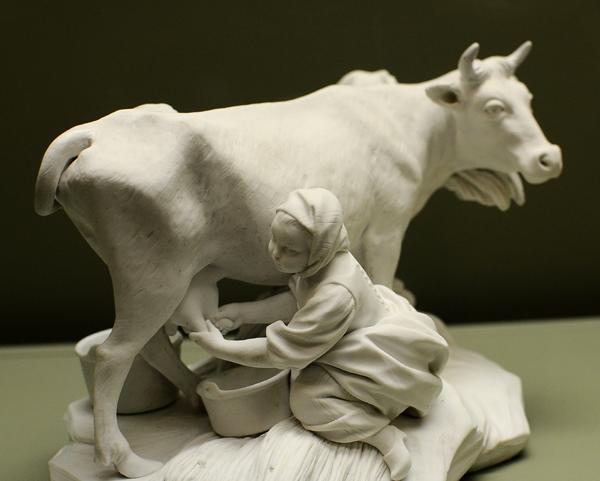 La Vache. Etienne Maurice Falconet.