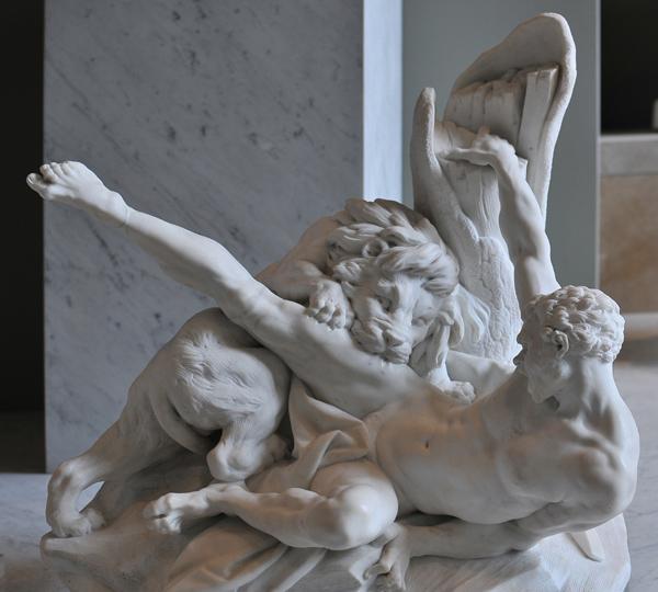 Milon de Crotone. Etienne Maurice Falconet