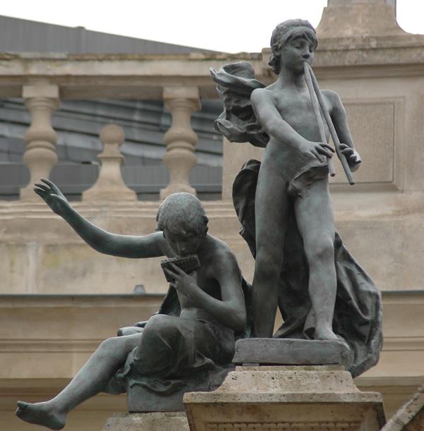 Enfants musiciens. Désiré Ferrary
