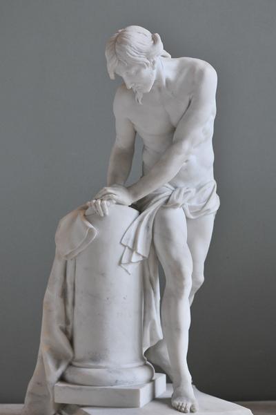 Christ à la colonne. Claude Clair Francin.