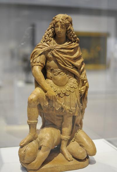 Louis XIV terrassant la Fronde. Gilles Guérin.