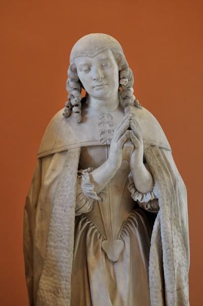 Tombeau de Charles de Vieuville. Marie Bouhier. Gilles Gérin