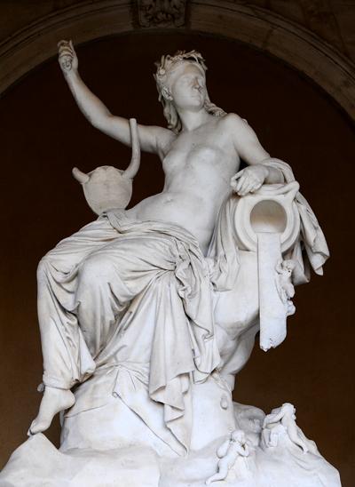 Castalie. Eugène Guillaume.