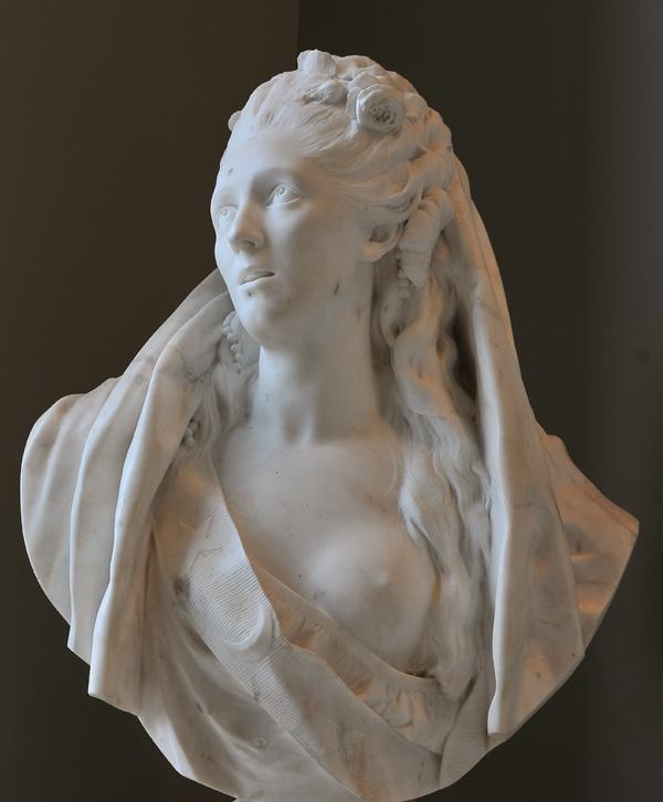 Sophie Arnould. Jean Antoine Houdon.