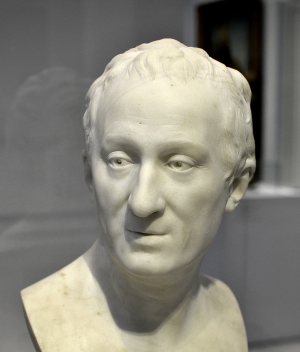 Diderot. Jean Antoine Houdon.