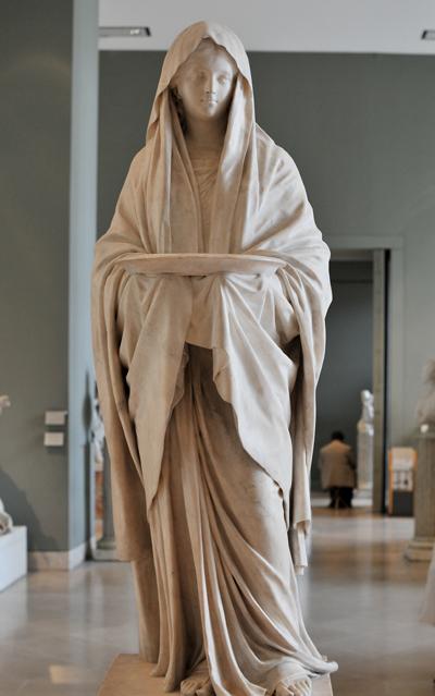 Vestale. Jean Antoine Houdon.
