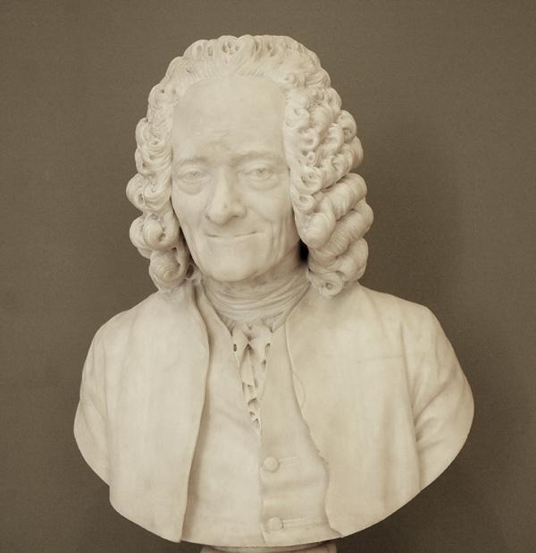Voltaire. Jean Etienne Houdon.