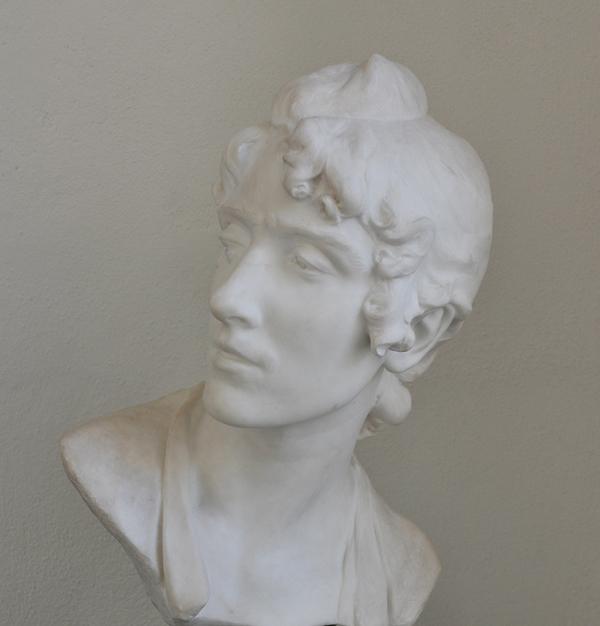 Etude de Tête. Jean Antoine Injalbert.
