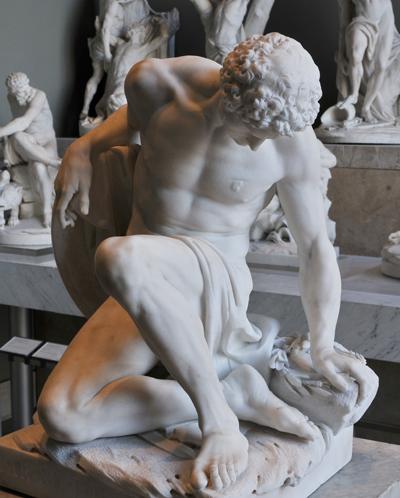 Gladiateur mourant. Pierre Julien.