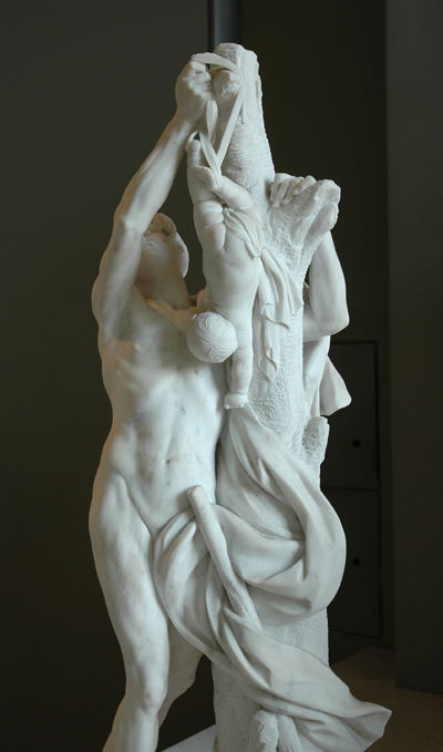 Phorbas et Oedipe. Félix Lecomte.
