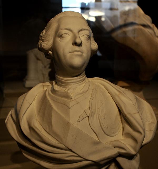 Louis XV en armure. Jean Baptiste Lemoyne.