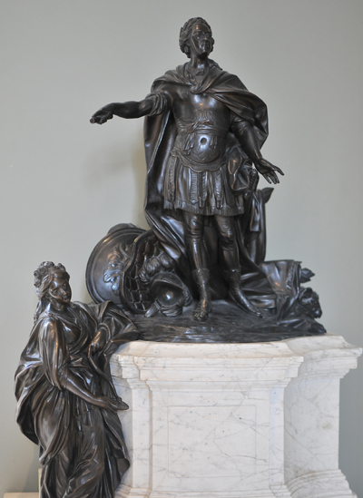 Monument Louis XV. Jean Baptiste II Lemoyne.