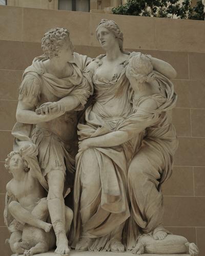 Arria et Poetus. Pierre Lepautre. Jean Baptiste Théodon