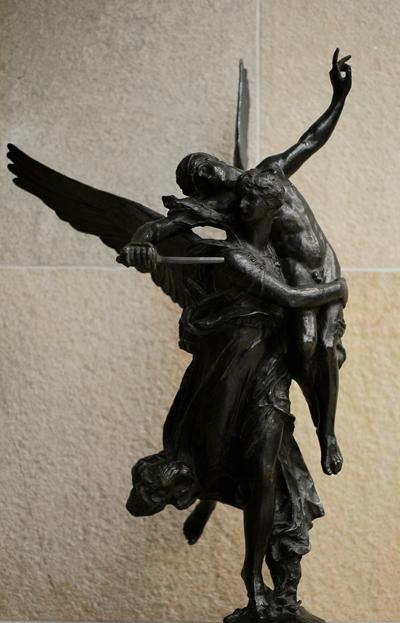 gloria Victis. Antonin Mercié.
