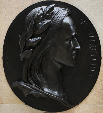 Virgile. Antoine Auguste Préault.