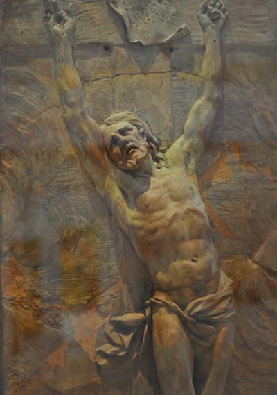 Le Christ mourant. Pierre Puget.