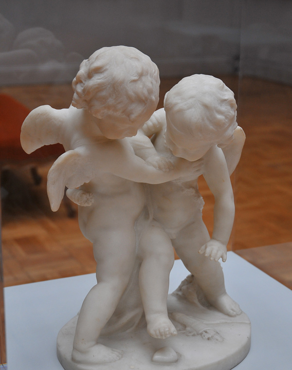 Deux Amours luttant. Guglielmo Pugi