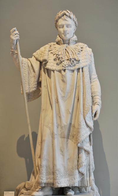 Napoléon 1er en costume de Sacre. Claude Ramey.
