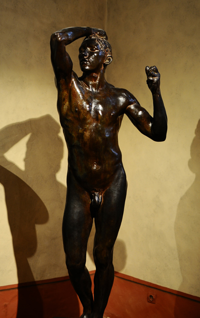 L'Age d'airain. Auguste Rodin.