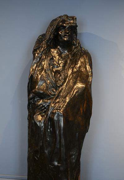Balzac drapé. Auguste Rodin.