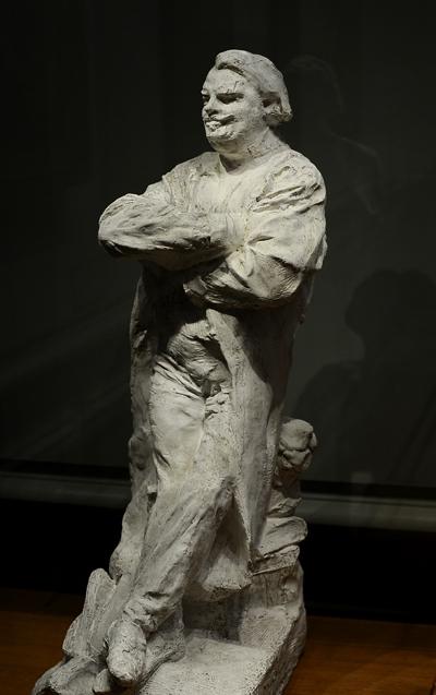 Balzac. Etude. En redingote. Auguste Rodin.