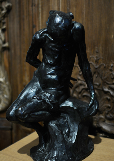 La Belle Heaulmière. Auguste Rodin.