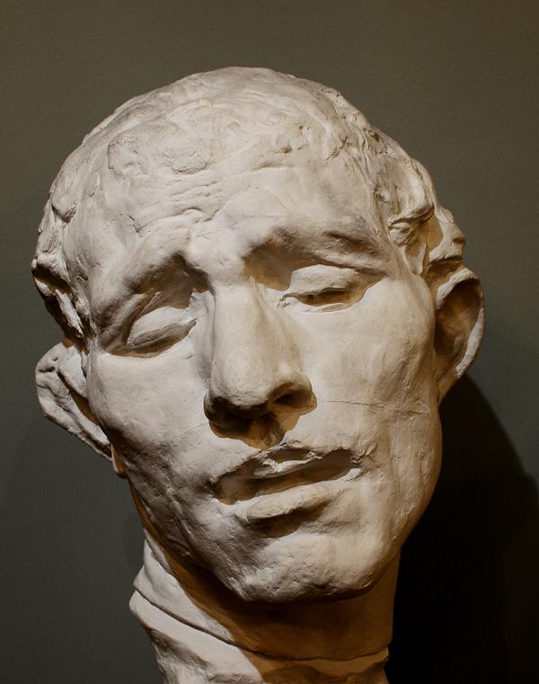 Les Bourgeois de Calais. Etude. Wissant. Auguste Rodin.