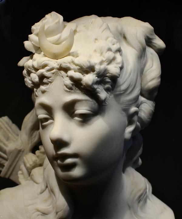 Diane. Auguste Rodin.