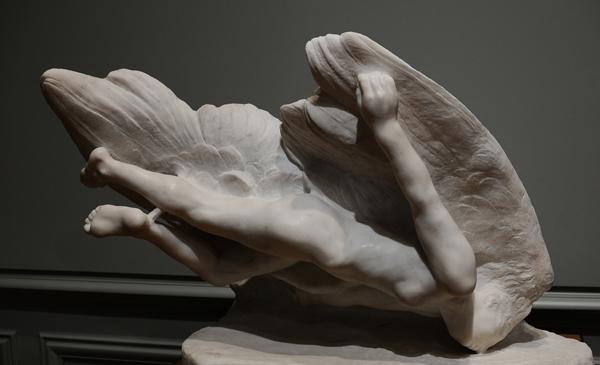 Illusion, Soeur d'Icare. Auguste Rodin.