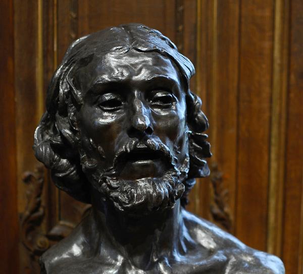 Buste de Jean Batiste. Auguste Rodin.