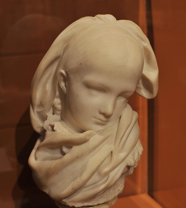 Jeune Alsacienne. Auguste Rodin.