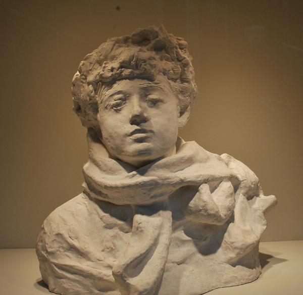 Lady Sckville. Auguste Rodin?