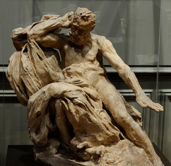 Monument Victor Hugo. Etude. Auguste Rodin.