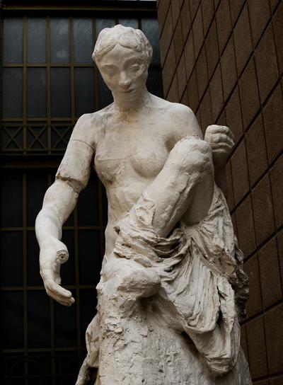 La Muse de Whistler. Auguste Rodin.
