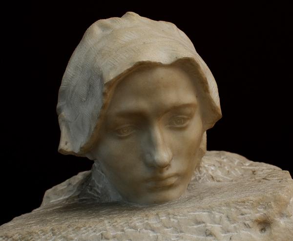 La Pensée. Auguste Rodin.