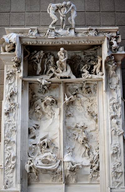La Porte de l'Enfer. Auguste Rodin.