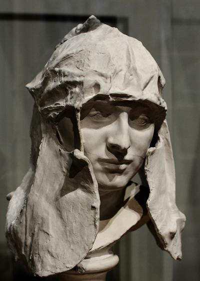 Miss Russell en Saint Georges. Auguste Rodin.