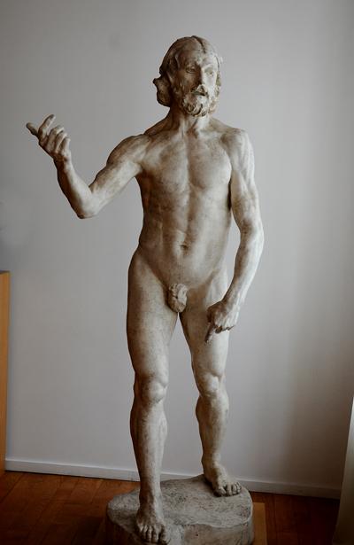 Saint Jean Baptiste. Auguste Rodin.