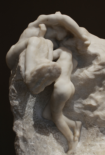 La Tere et la Lune. Auguste Rodin.