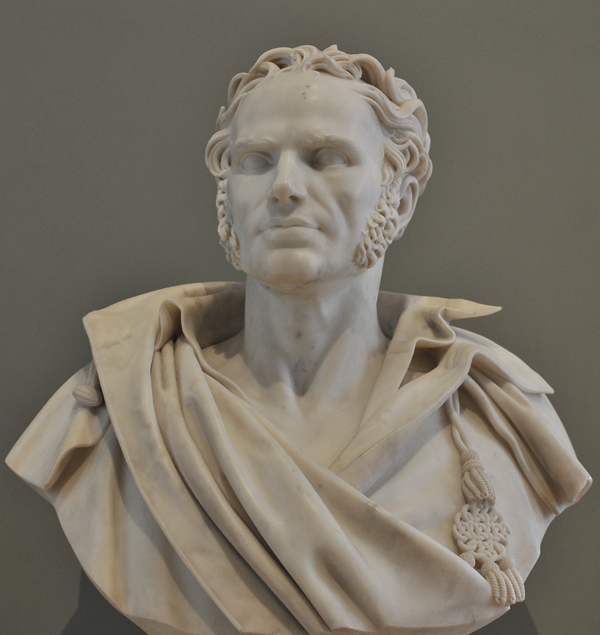 Le peintre Girodet. Jean Baptiste Roman.
