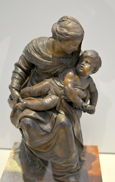 Vierge et l'Enfant. Jacques Sarrazin.