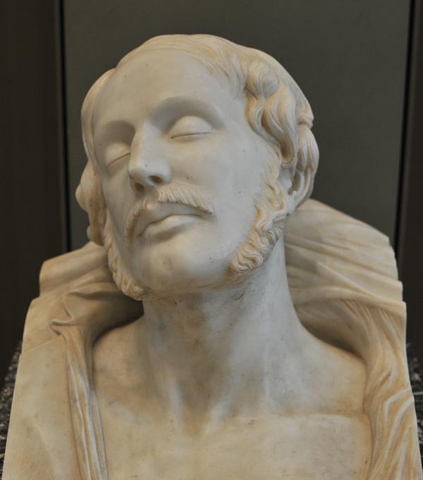 Le duc d'Orléans. Henri de Triqueti