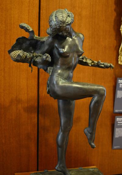 Bacchante Dansant. Henri Varenne