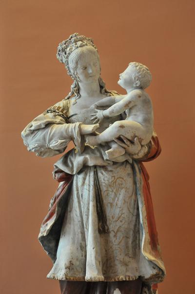 Vierge à l'Enfant. Anonyme XVIe