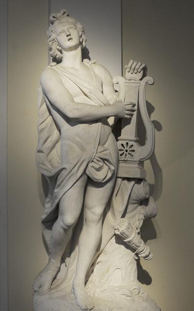 Apollon. Nicolas Sébastien  Adam.