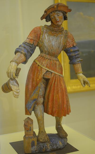 Saint Florian. Anonyme du XVIe, souabe.