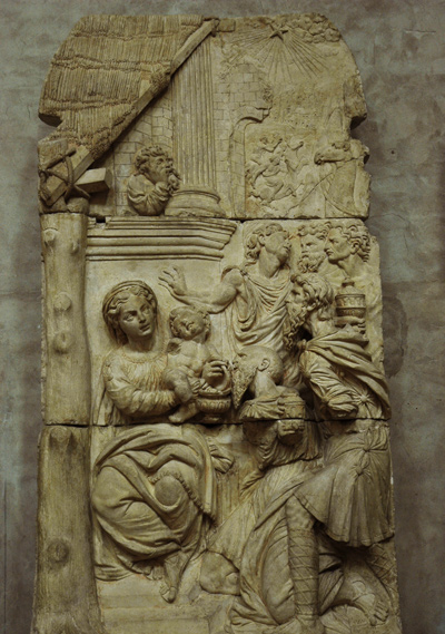 L'Adoration des mages. Nicolas Bachelier.